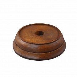 Деревянная круглая подставка под колокольчик, d100 000018872