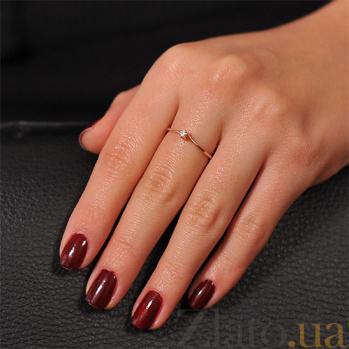 Золотое кольцо с бриллиантами Арлинда EDM--КД7461