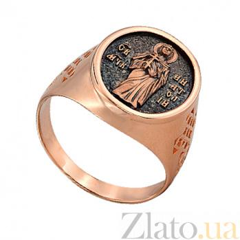 Золотое кольцо Святой Антоний VLT--К1009