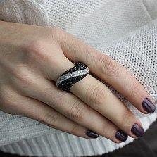 Кольцо серебряное с цирконием Джорджия