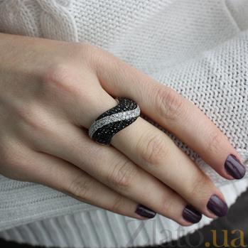 Кольцо серебряное с цирконием Джорджия 10000022