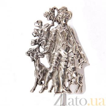 Серебряная закладка Фавн 1575