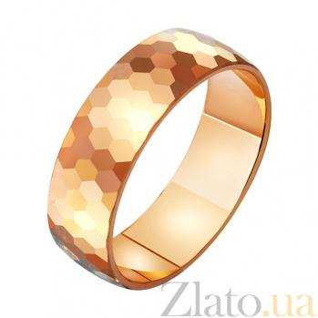 Золотое обручальное кольцо Нежность и страсть TRF--411290