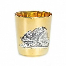Серебряный стакан Крыса