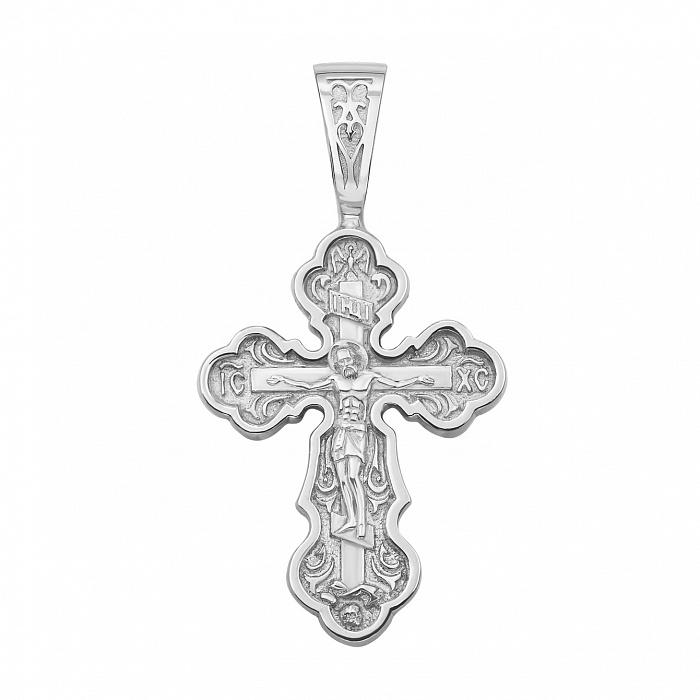 Православный серебряный крестик 000133517 000133517