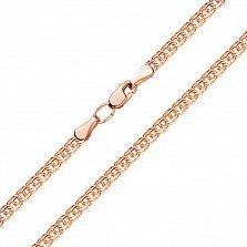 Золотая цепочка Бисмарк с алмазной гранью, 3,5мм