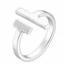Серебряное кольцо на фалангу Тифани