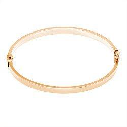 Литой браслет из красного золота 000080396