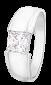 Серебряное кольцо с фианитом Шик 000025686