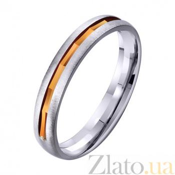 Золотое обручальное кольцо Semper Fidelis TRF--411955