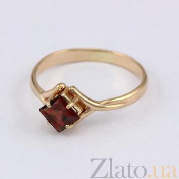 Золотое кольцо с гранатом Галата VLN--112-1203-3