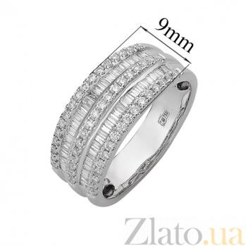 Кольцо из белого золота с бриллиантами Орланда R-03338