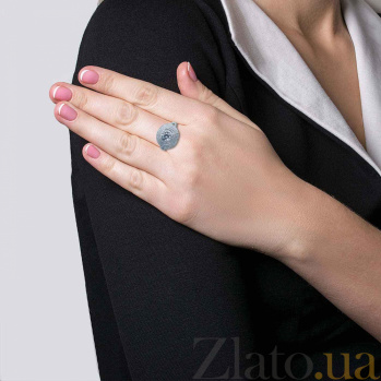 Серебряное кольцо с фианитами Эверест AQA--WJR-0064-1_akv