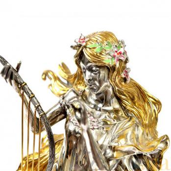 Серебряная композиция Девушка-Весна 1650