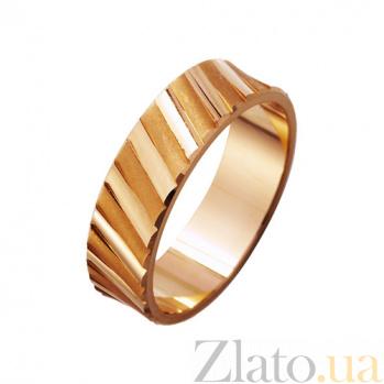 Золотое обручальное кольцо Океаны любви TRF--411390