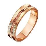 Золотое обручальное кольцо Вечная любовь