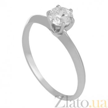 Золотое кольцо с бриллиантом Miracle VLN--122-1312*