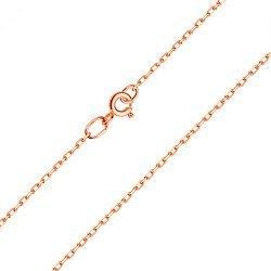 Золотая цепь классического якорного плетения с алмазной гранью, 2мм 000064522