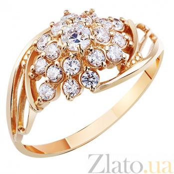 Золотое кольцо с фианитами Габриэлла AUR--31578