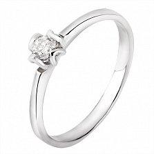 Золотое кольцо с бриллиантом  Марианна