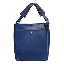 Сумка На Каждый День Italian Bags 8965_blue Кожаная Синий