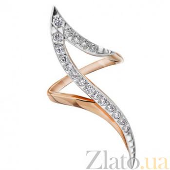 Золотое кольцо с цирконием Комета EDM--КД0130