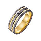 Золотое обручальное кольцо Наша вечность