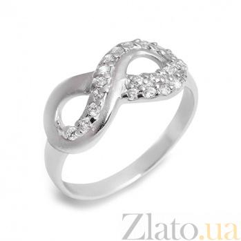 """Серебряное кольцо """"Бесконечность"""" AQA--S218560080"""