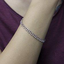 Серебряный браслет Кантилена, 4 мм