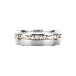 Золотое кольцо с бриллиантами Новоозаренные: Блеск Страсти