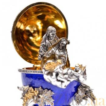 Серебряная композиция Рождение Христа 1544