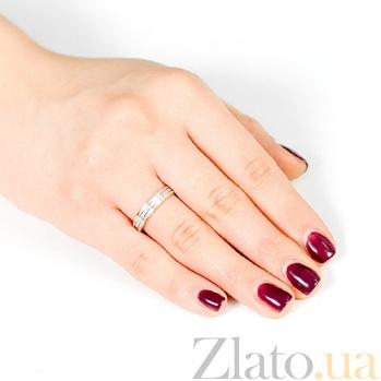 Золотое обручальное кольцо Фонтан Гефеста 000001669
