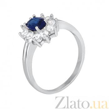 Кольцо из серебра с цирконием Сафира 000028359