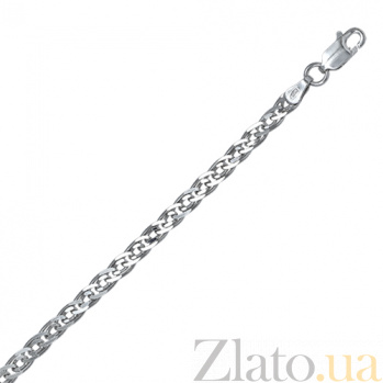 Серебряный браслет Ричмонд, 5 мм, 19 см 000027708