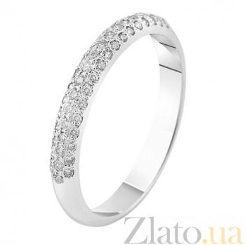 Кольцо в белом золоте Джантайн с фианитами SVA--1190630102/Фианит/Цирконий