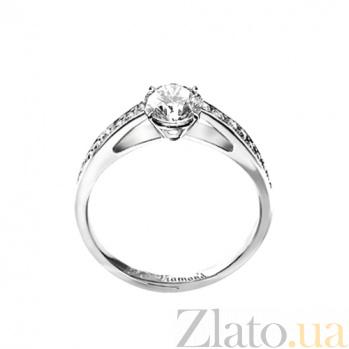Золотое кольцо с бриллиантами Венец 000029693