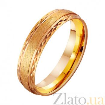 Золотое обручальное кольцо Фейерверк эмоций TRF--411981