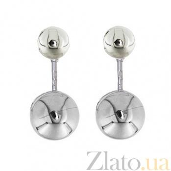 Серебряные серьги Пирсинг  LEL--86000