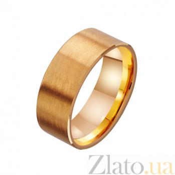Золотое обручальное кольцо Супружеское счастье TRF--4111526
