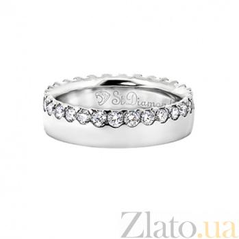 Золотое кольцо с бриллиантами Рыцарь и королева 000029680
