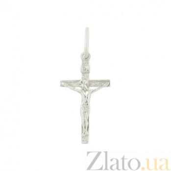 Золотой крестик Вечная жизнь 2П071-0007