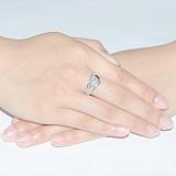 Золотое кольцо с бриллиантами  Ванесса