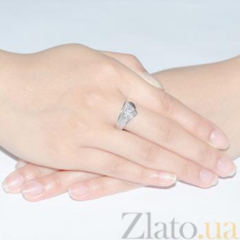 Золотое кольцо с бриллиантами  Ванесса R 0134