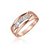 Кольцо из серебра с фианитами High Fashion
