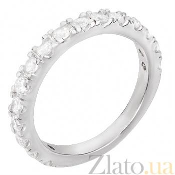 Серебряное кольцо с фианитами Иоланта 31048