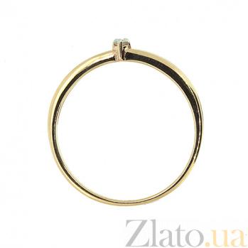 Кольцо из красного золота с бриллиантами Эра 000021446