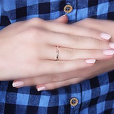 Золотое кольцо Юта с бриллиантами