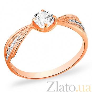 Кольцо из золота с цирконием Эсми SUF--140236