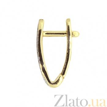 Серьги-трансформеры желтого золота с бриллиантами Джая ZMX--ED-6786y_K