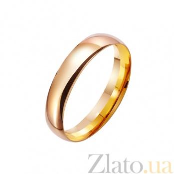Золотое обручальное кольцо Мой статус TRF--4110537